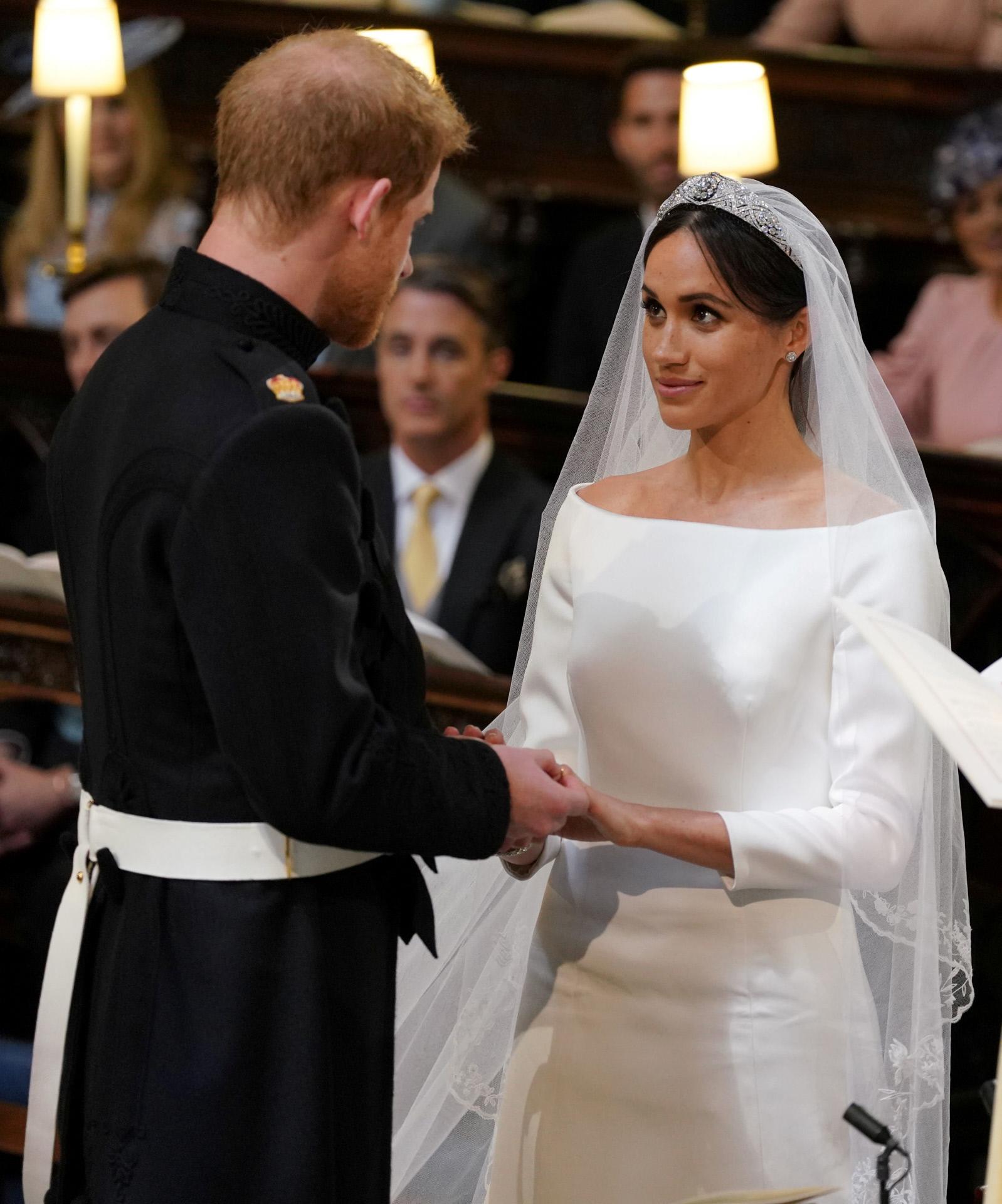 El príncipe Harry y Meghan Markle, el día de su boda oficial y legal.