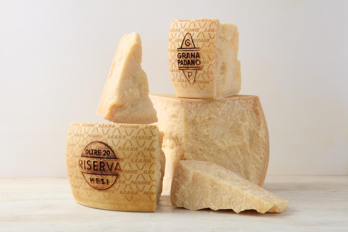 Grana Padana, la Denominación de origen más consumida del mundo.