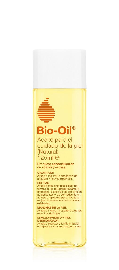 Cremas reafirmantes corporales: Aceite natural de Bio-Oil