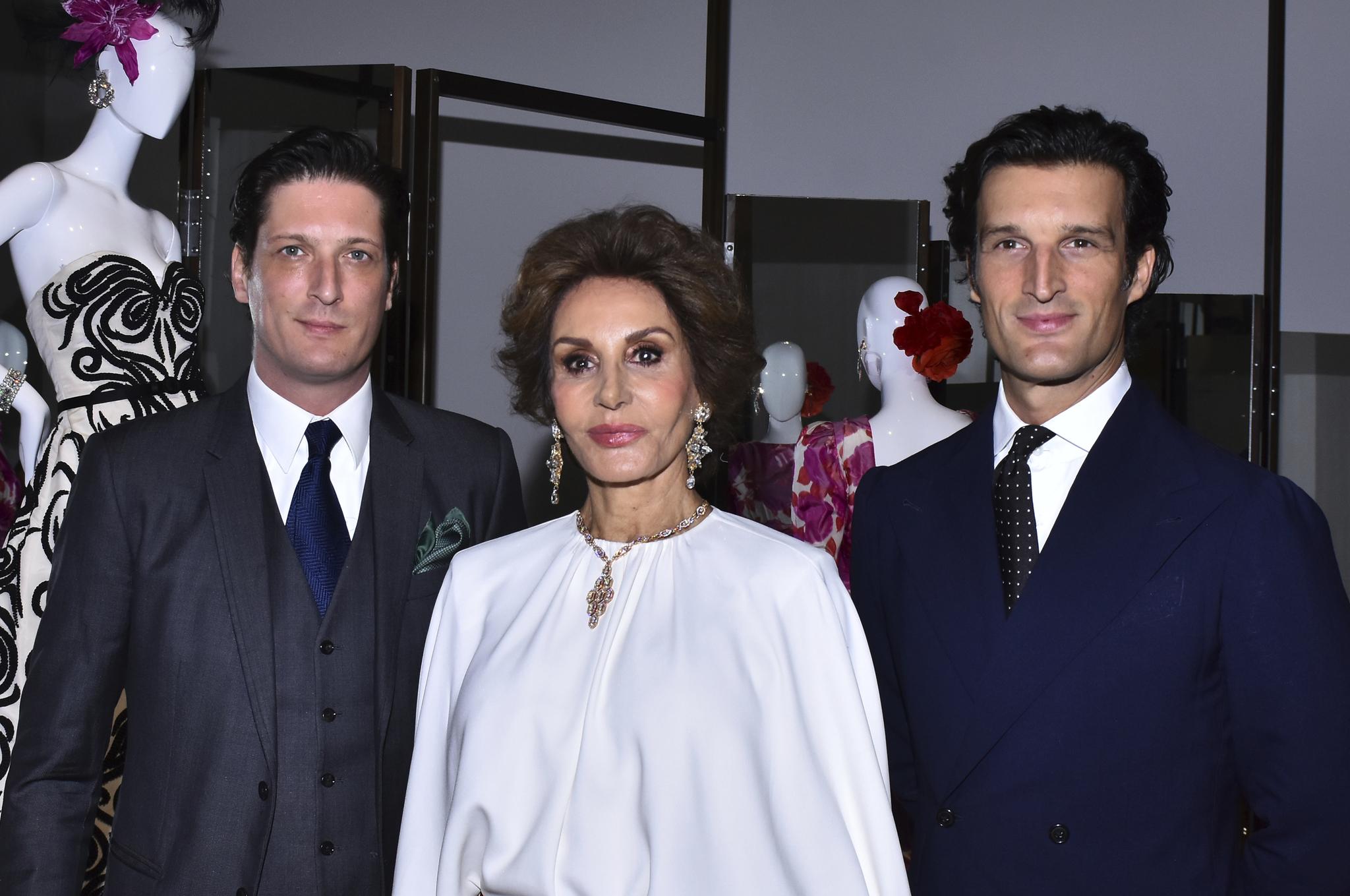 Los Medina Abascal en México, en el último acto que estuvieron juntos en 2019.