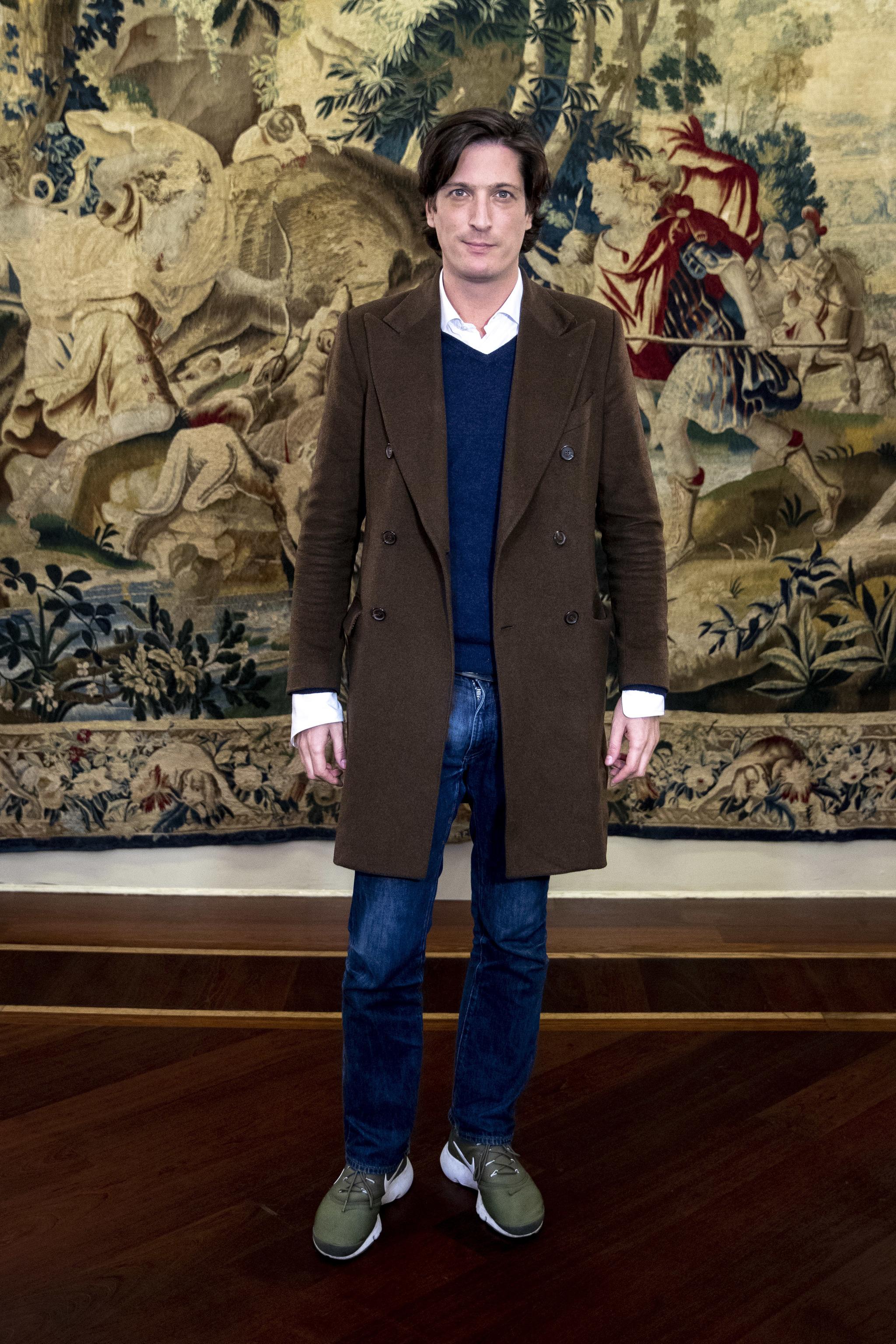Luis Medina Abascal, en Madrid Fashion Week hace un año.