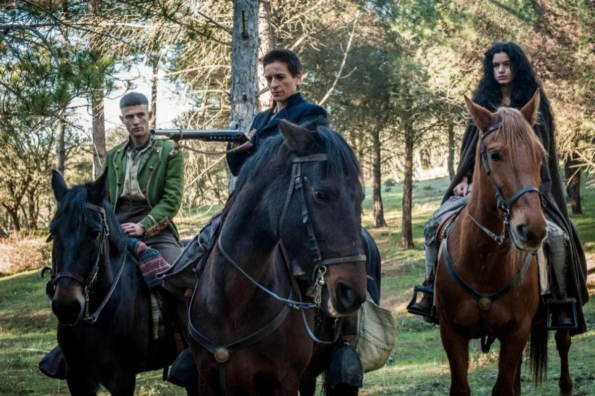 La serie destaca por contar con muchas escenas rodadas al aire libre.