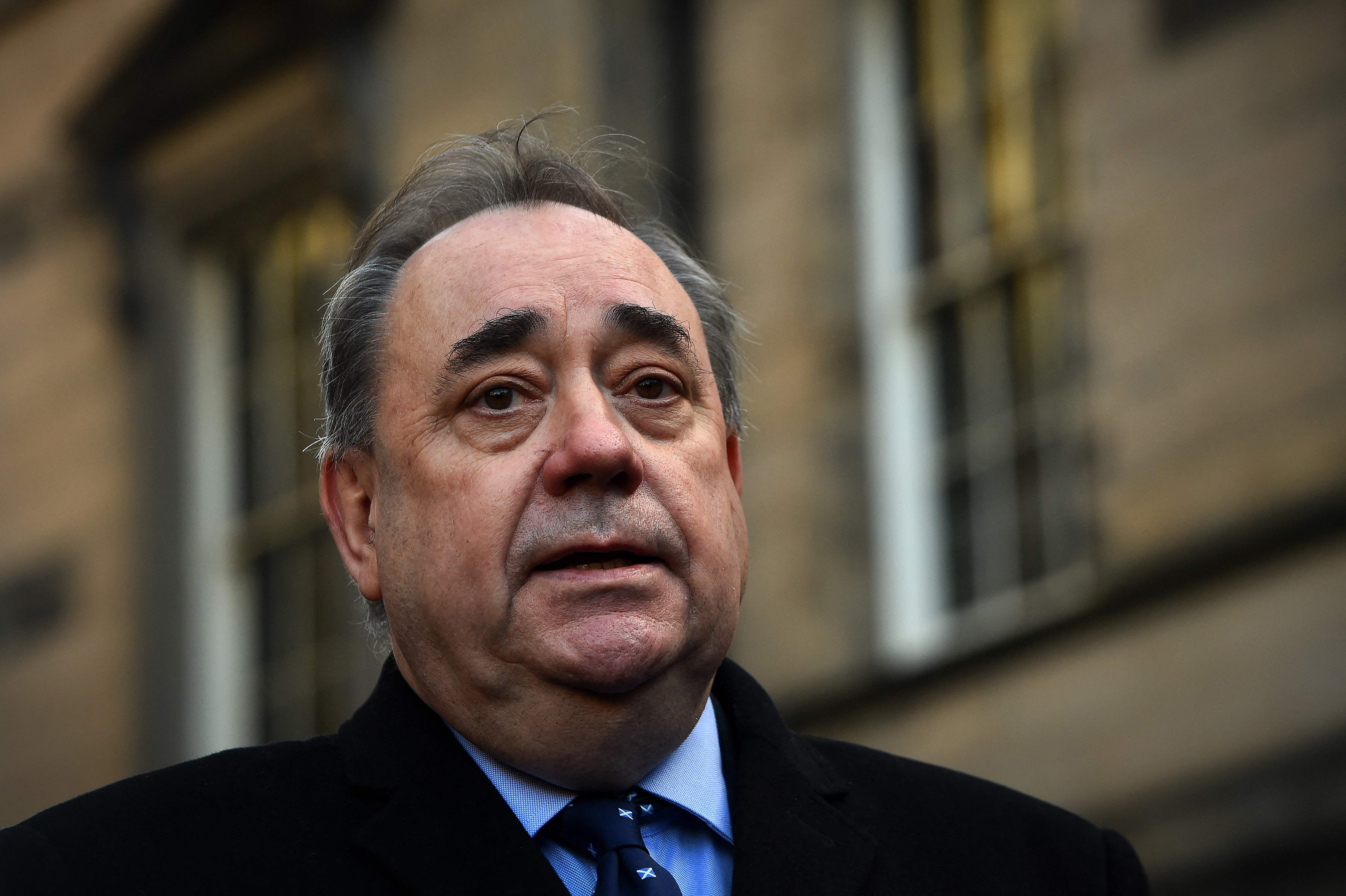 El ex ministro principal escocés Alex Salmond.