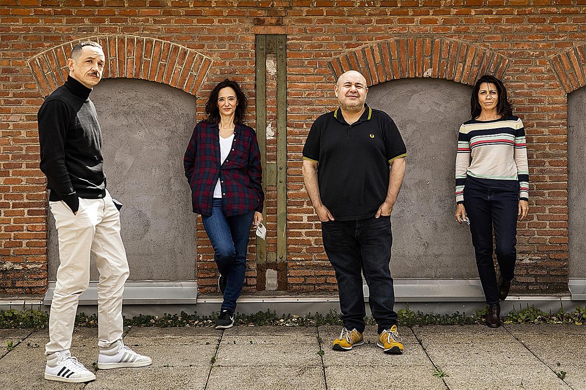 Luis Luque, Ana Torrent, Jorge Calvo y Alicia Borrachero.