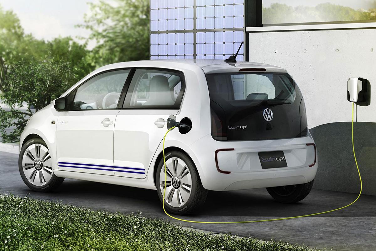 Imagen del Volkswagen e-Up con 260 kilómetros de autonomía