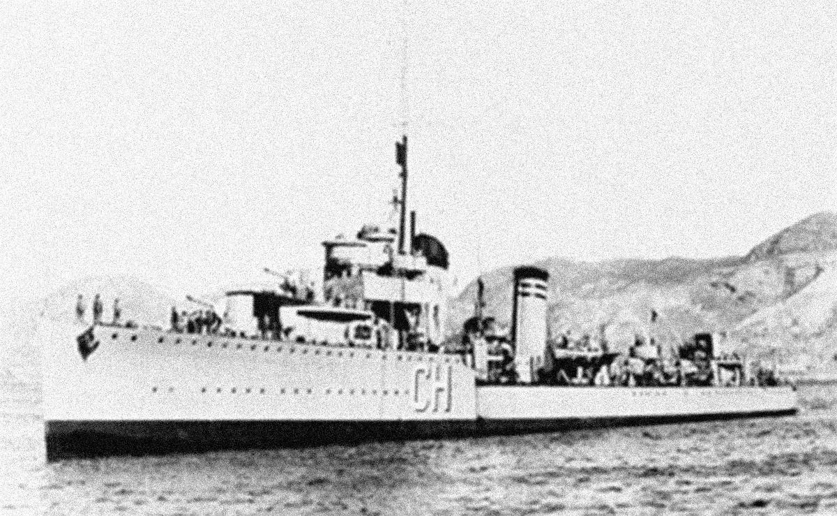 Los buques 'Gravina' y 'Churruca', fieles a la República.