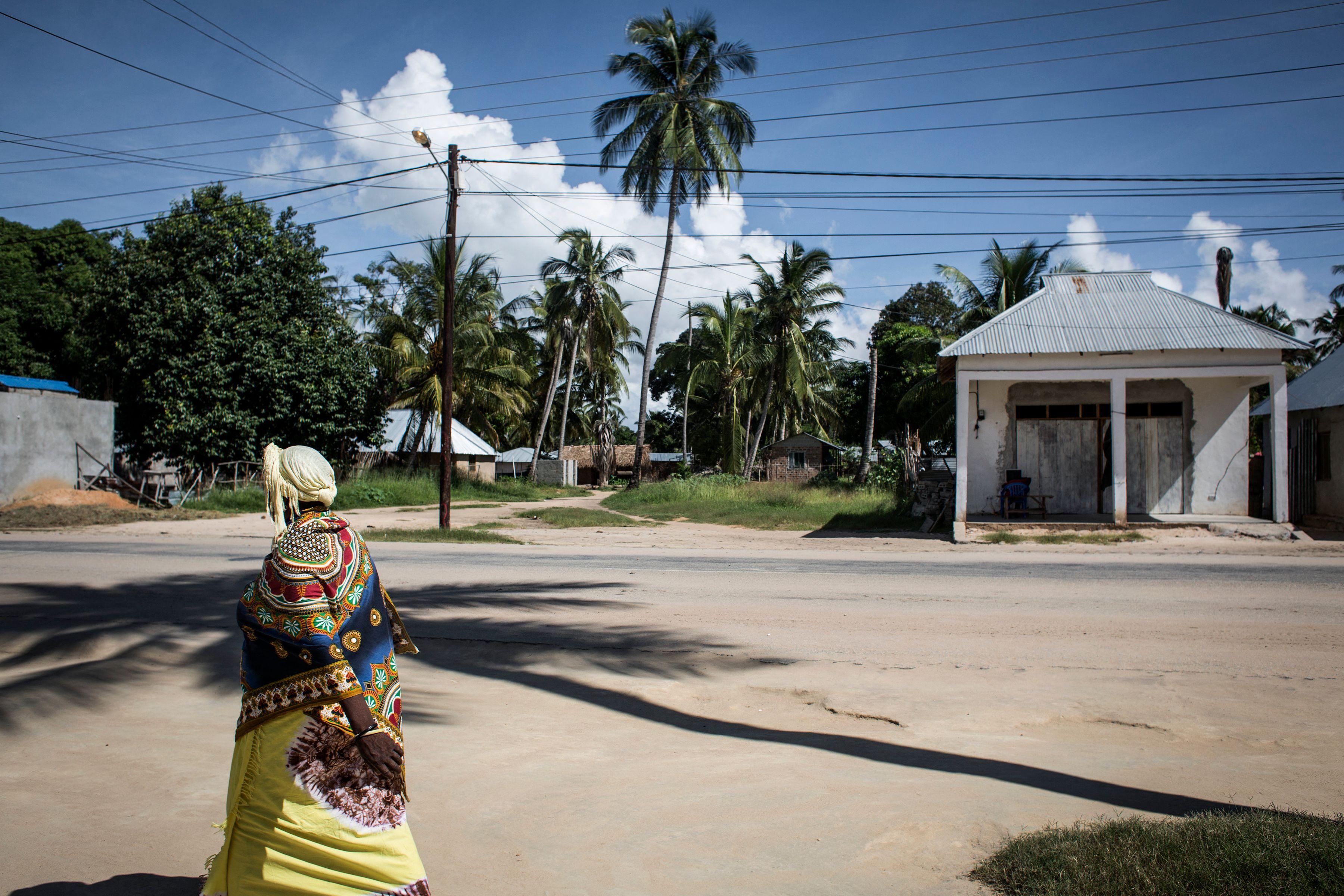 Imagen de archivo de de la ciudad de Palma, en Mozambique.