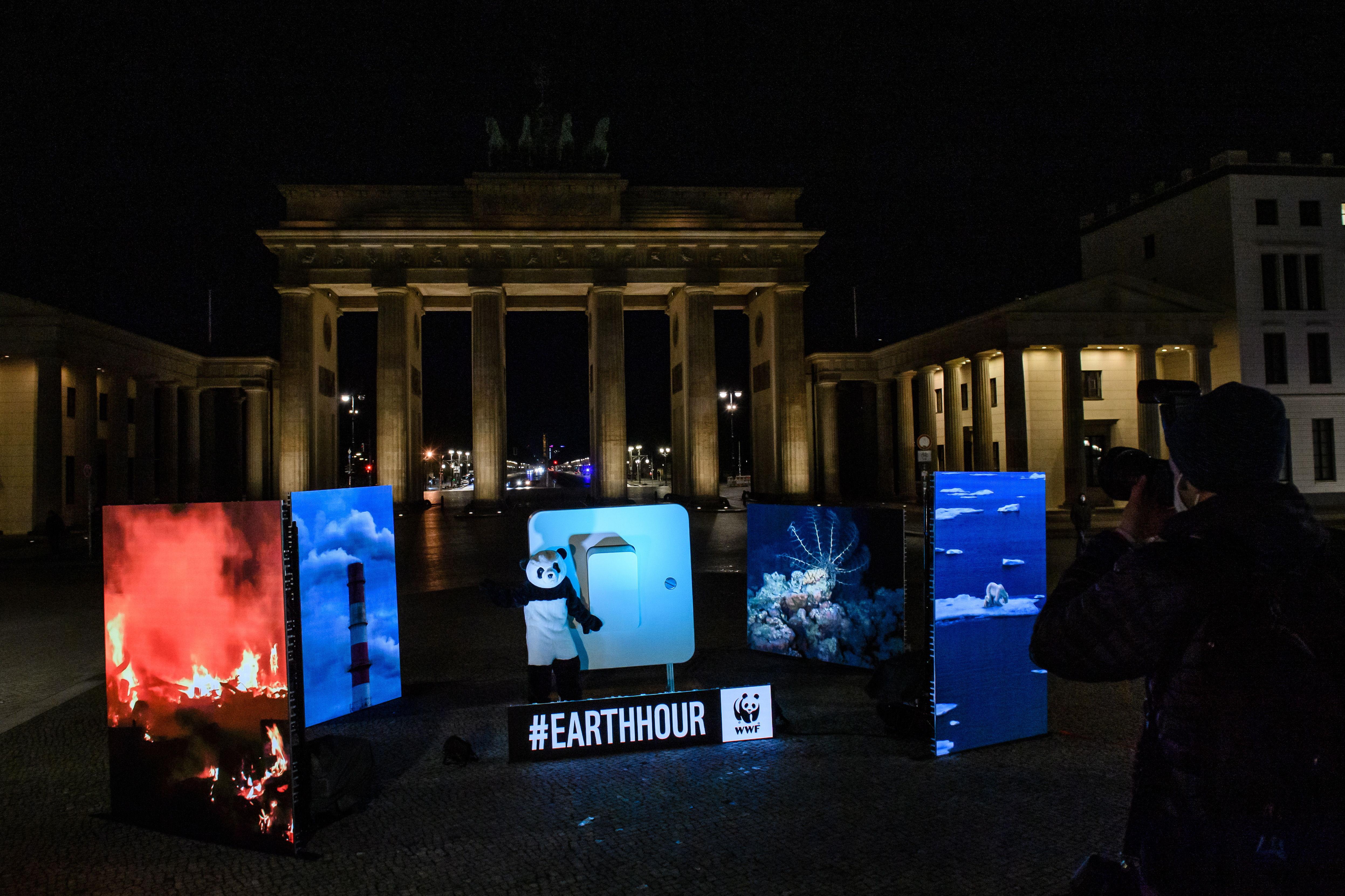 La Puerta de Brandemburgo, en Berlín.