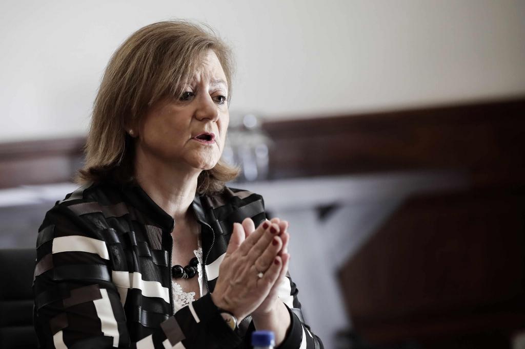 La secretaria de Estado de Asuntos Exteriores y para Iberoamérica y el Caribe de España, Cristina Gallach.
