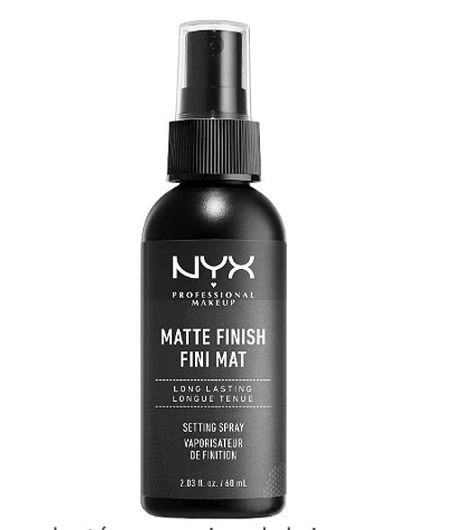 Professional Makeup Spray fijador, de NYX.