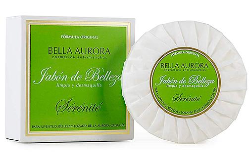 Jabón desmaquillador Serenité, de Bella Aurora.