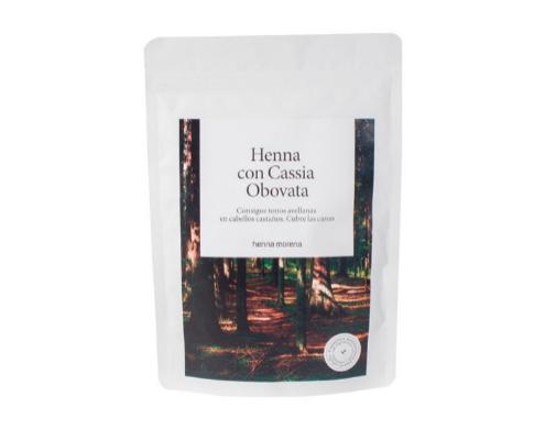 En casa también puedes usar tintes vegetales. Este, para cabellos castaños, es de Henna Morena y cuesta 18,50 euros.