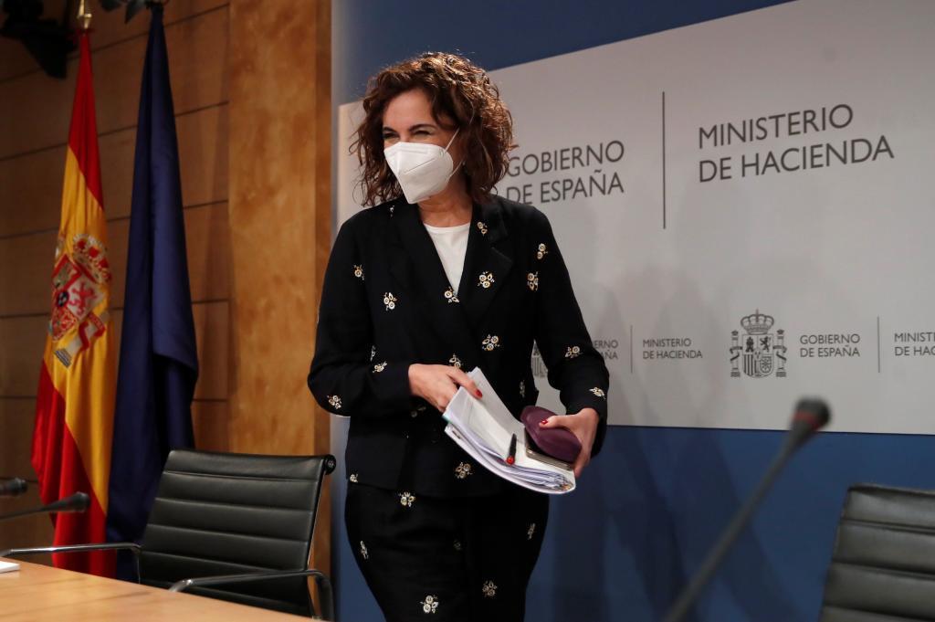 La minsitra de Hacienda y portavoz del Gobierno, María Jesús Montero.