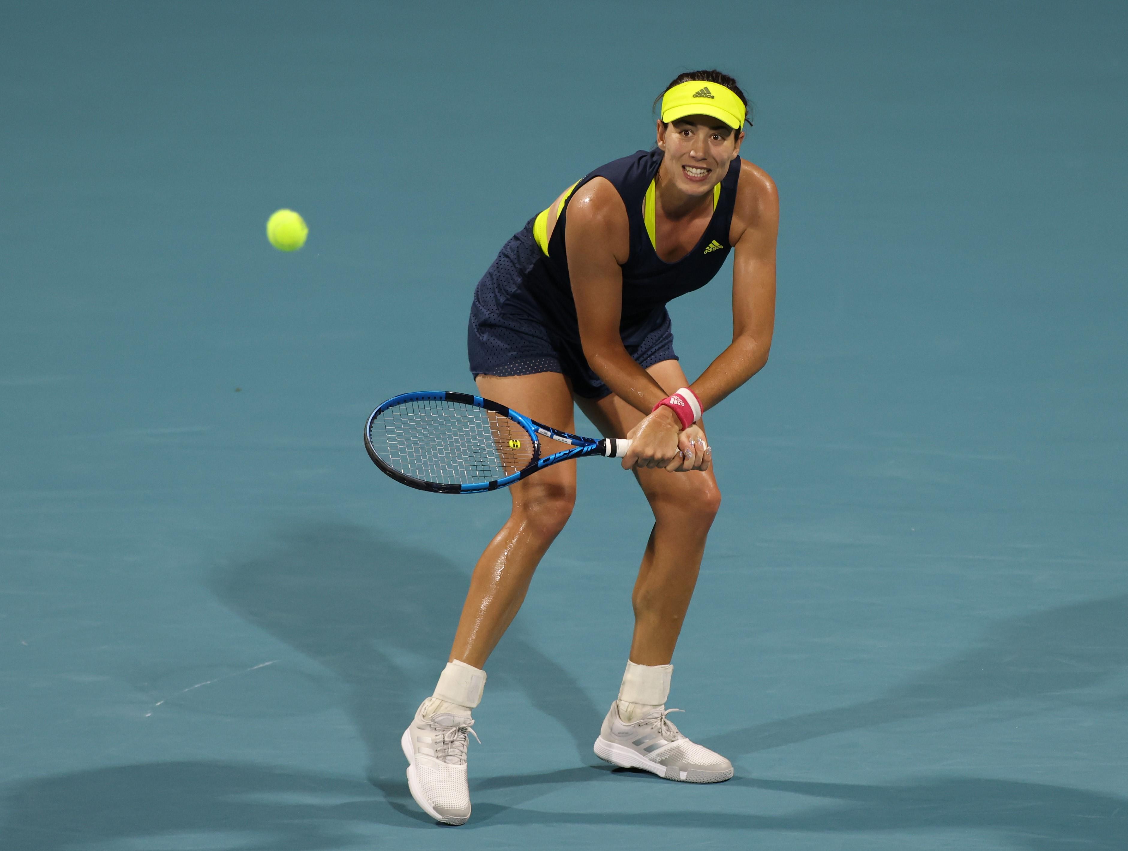 La euforia de Sara Sorribes, la decepción de Garbiñe Muguruza | Tenis