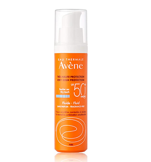 Solar Emulsión sin Perfume spf 50+, de Avene.