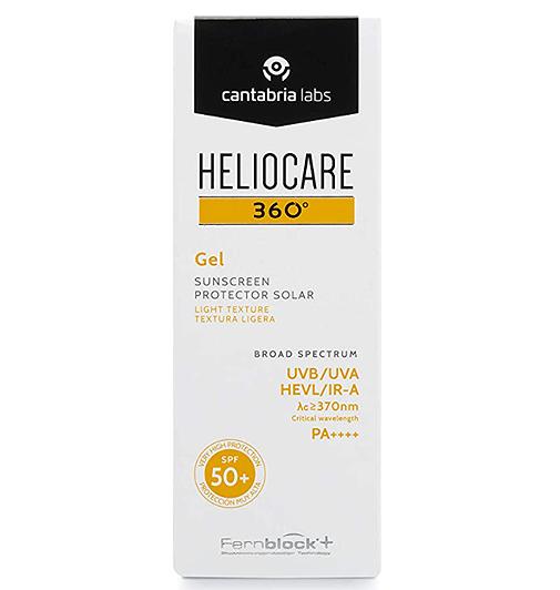 Heliocare 360º Gel SPF 50+, de Cantabria Labs.