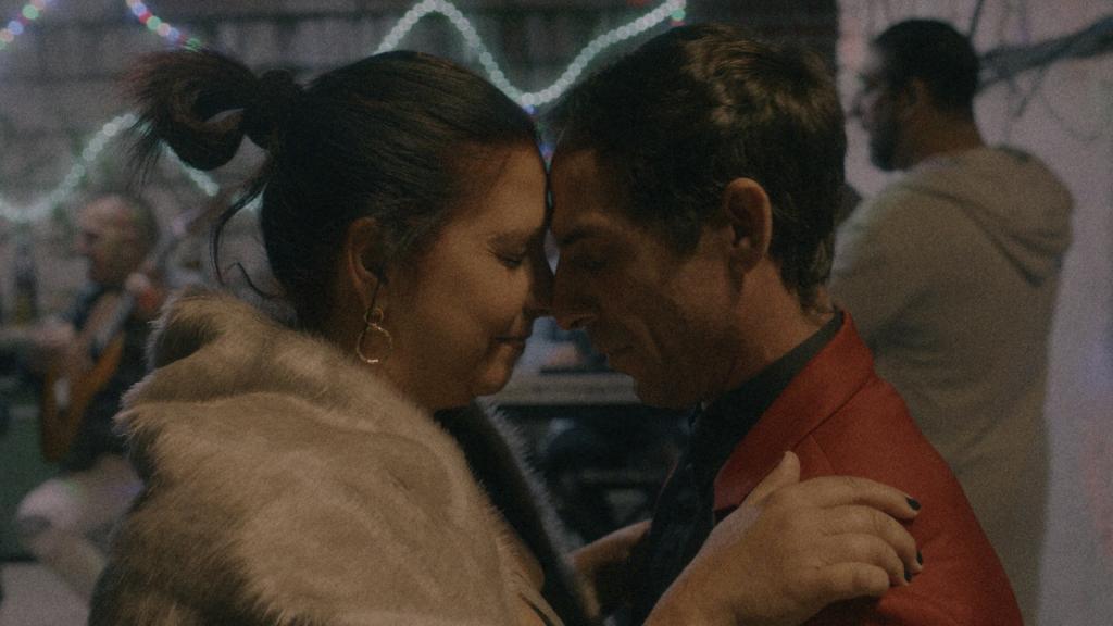 Agustina y David en 'La última primavera'.