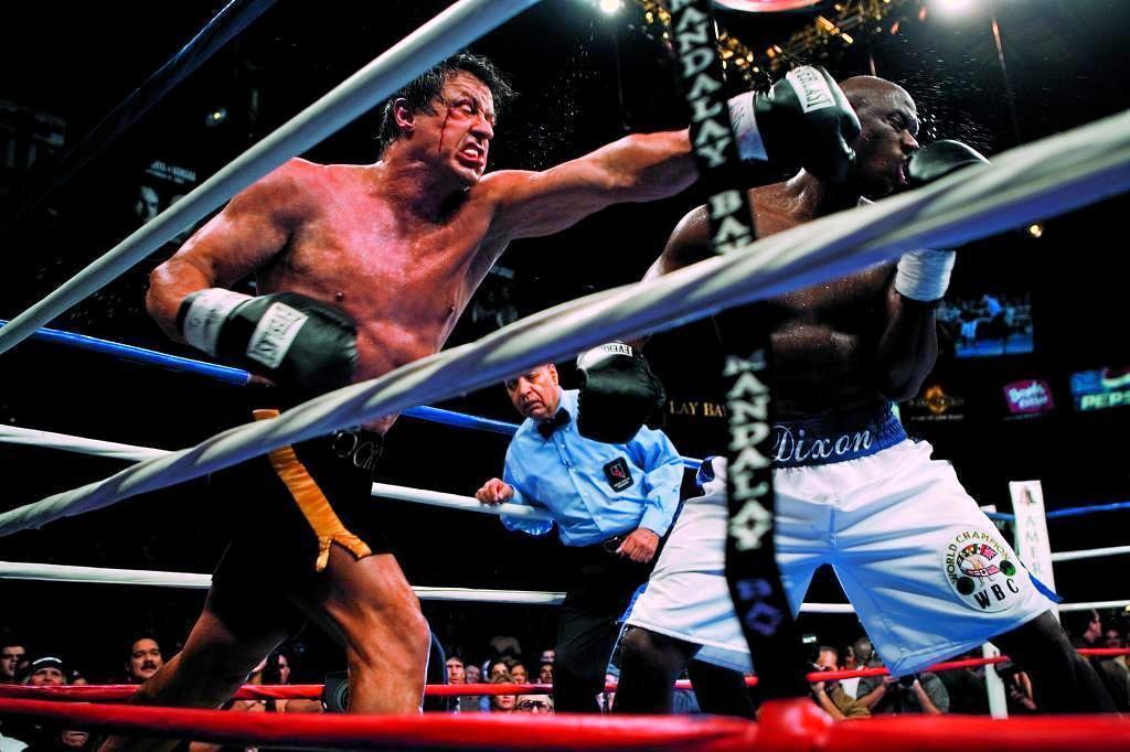 Fotograma de la saga 'Rocky'