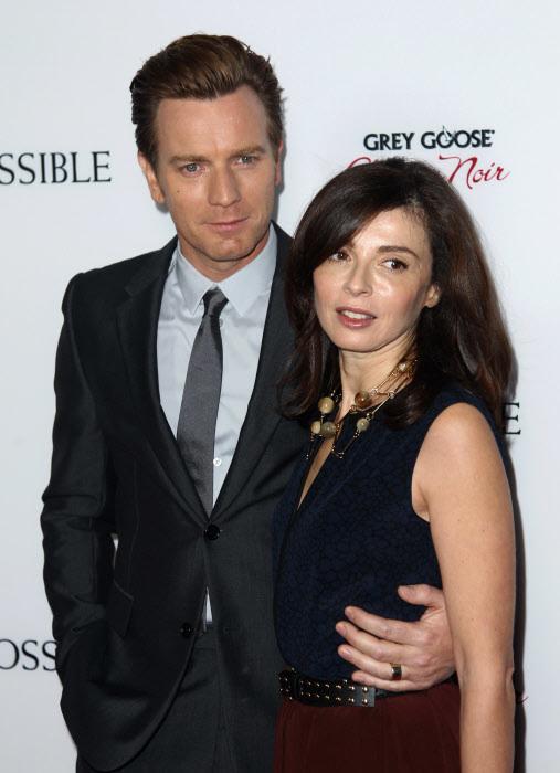 McGregor y su ex esposa, Eve Mavrakis.