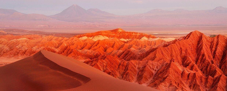Desierto de Atacama, norte de Chile.