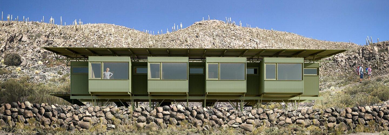 Refugio 'Chituca' del arquitecto Max N