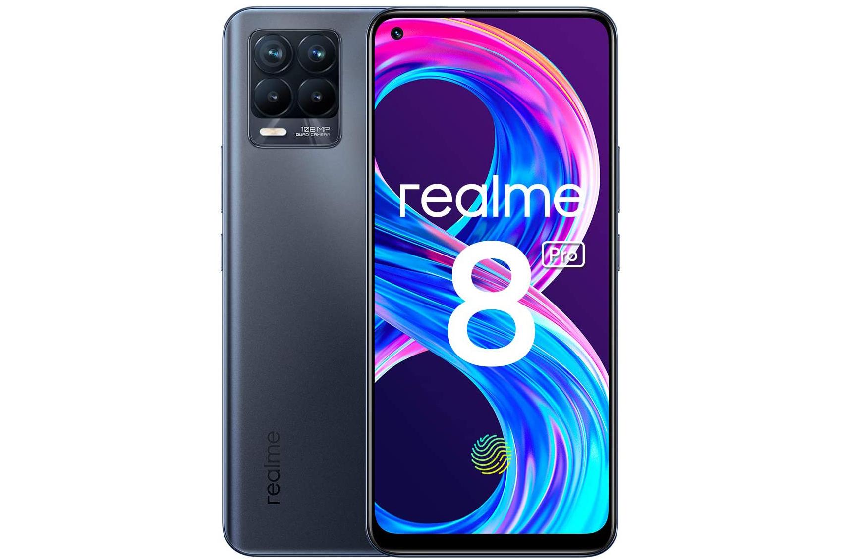 Realme 8 pro es un teléfono de grandes prestaciones a un precio competitivo