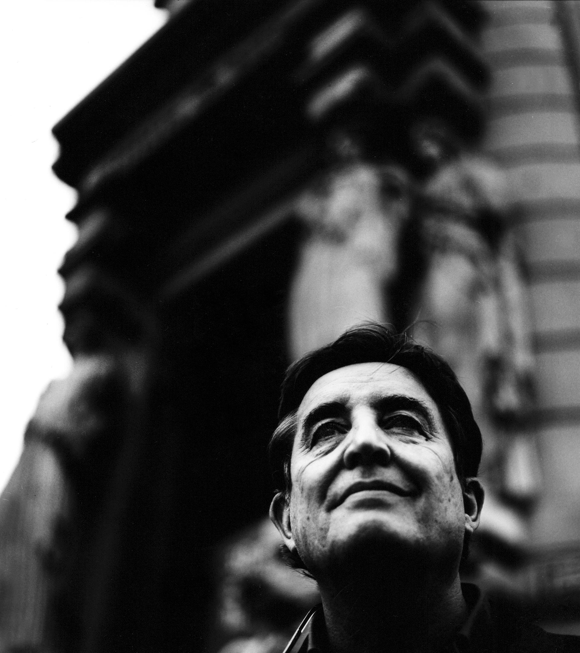 El poeta Luis García Montero, en la sede del Instituto Cervantes, en Madrid.