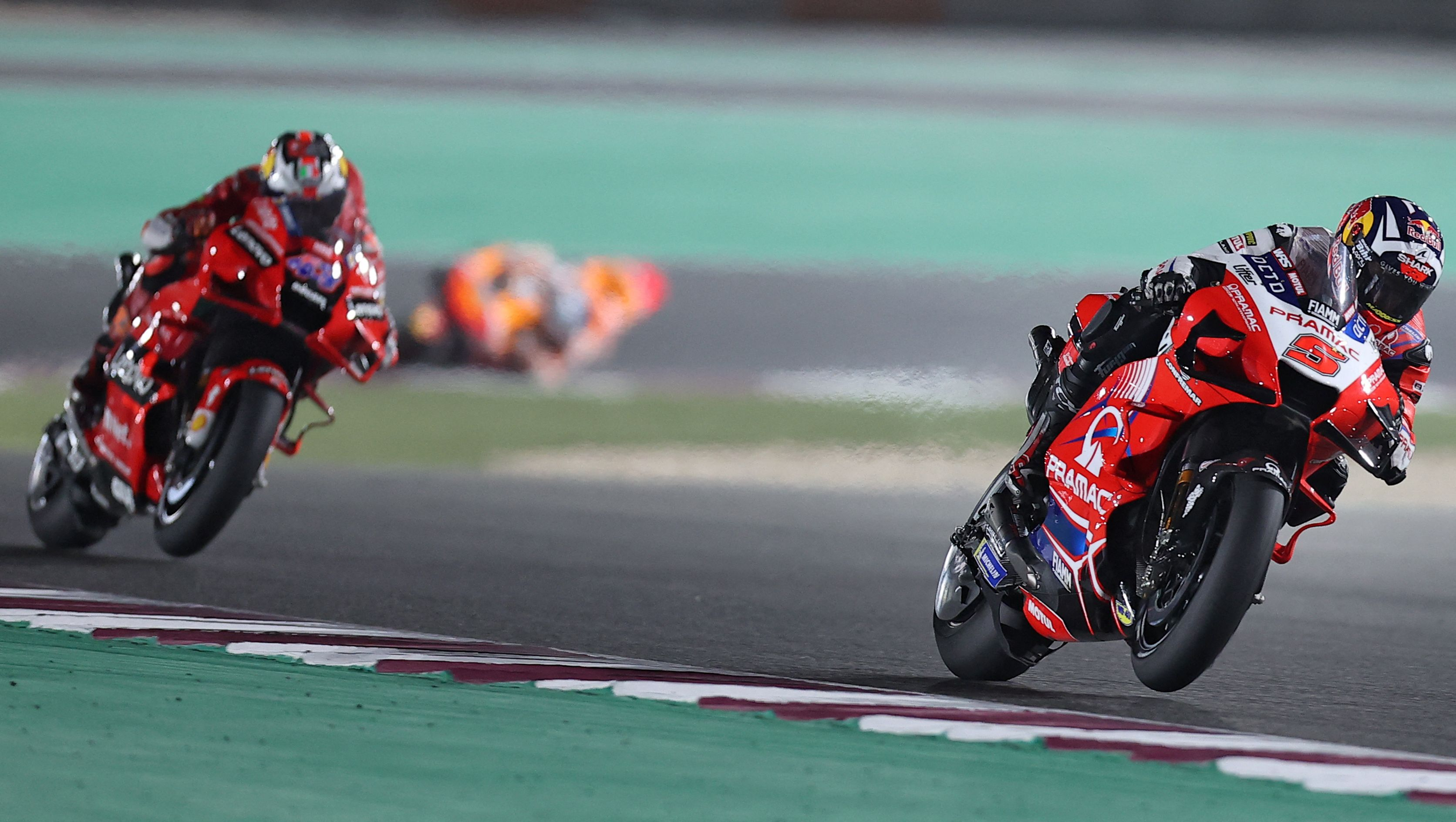 Johann Zarco, en el circuito de Qatar.