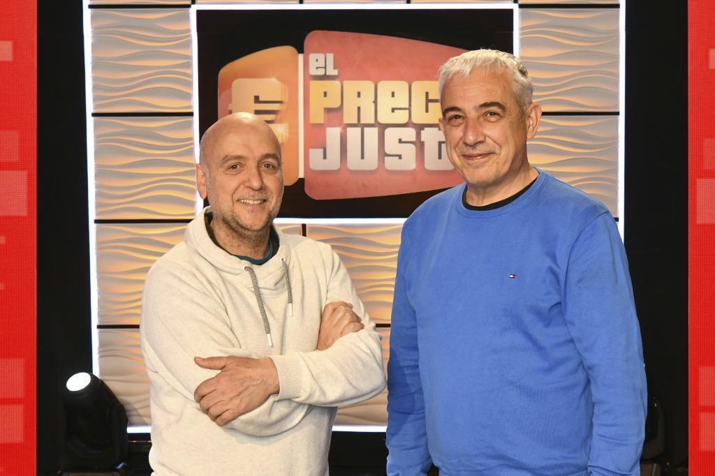 Elías Segovia y Fernando Rodríguez, jefe de producción y director