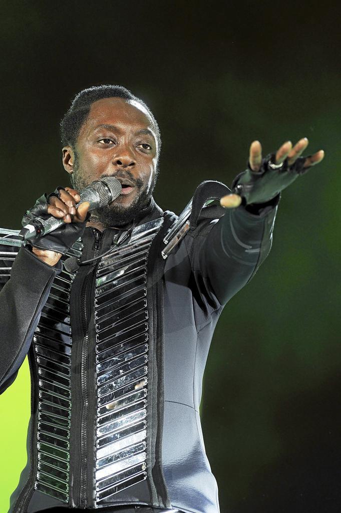 El cantante de los Black Eyed Peas Will.i.am.