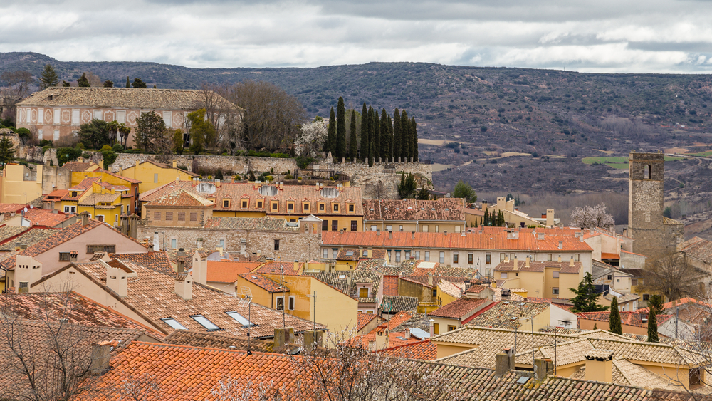 Vista general de Brihuega, en Guadalajara.