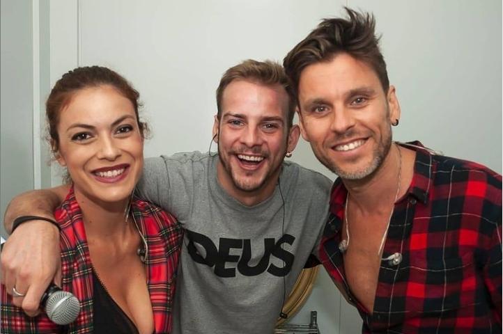 Geno, Álex Casademunt y Javián, en la foto que recientemente ha compartido el último en su Instagram.