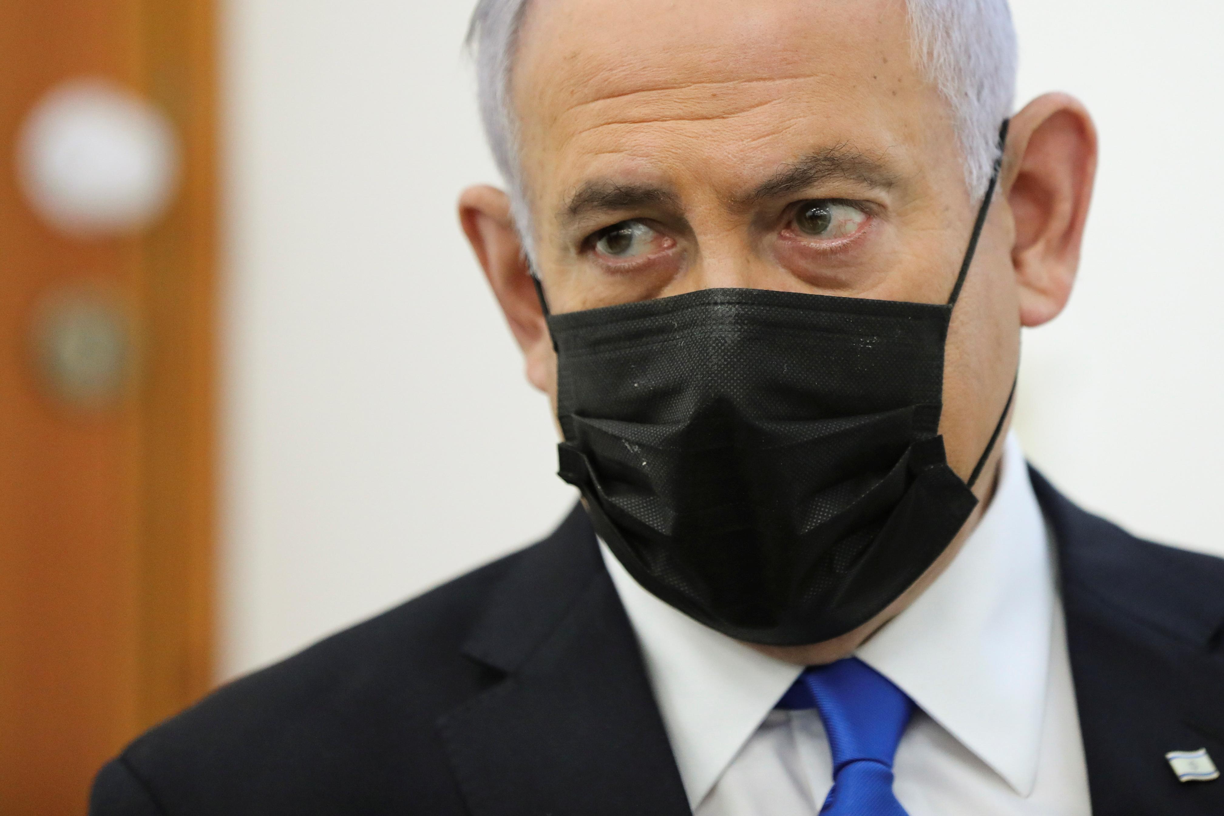 El 'premier' israelí, Benjamin Netanyahu.