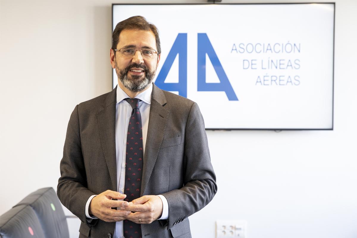 El presidente de la Asociación de Líneas Aéreas, Javier Gándara.