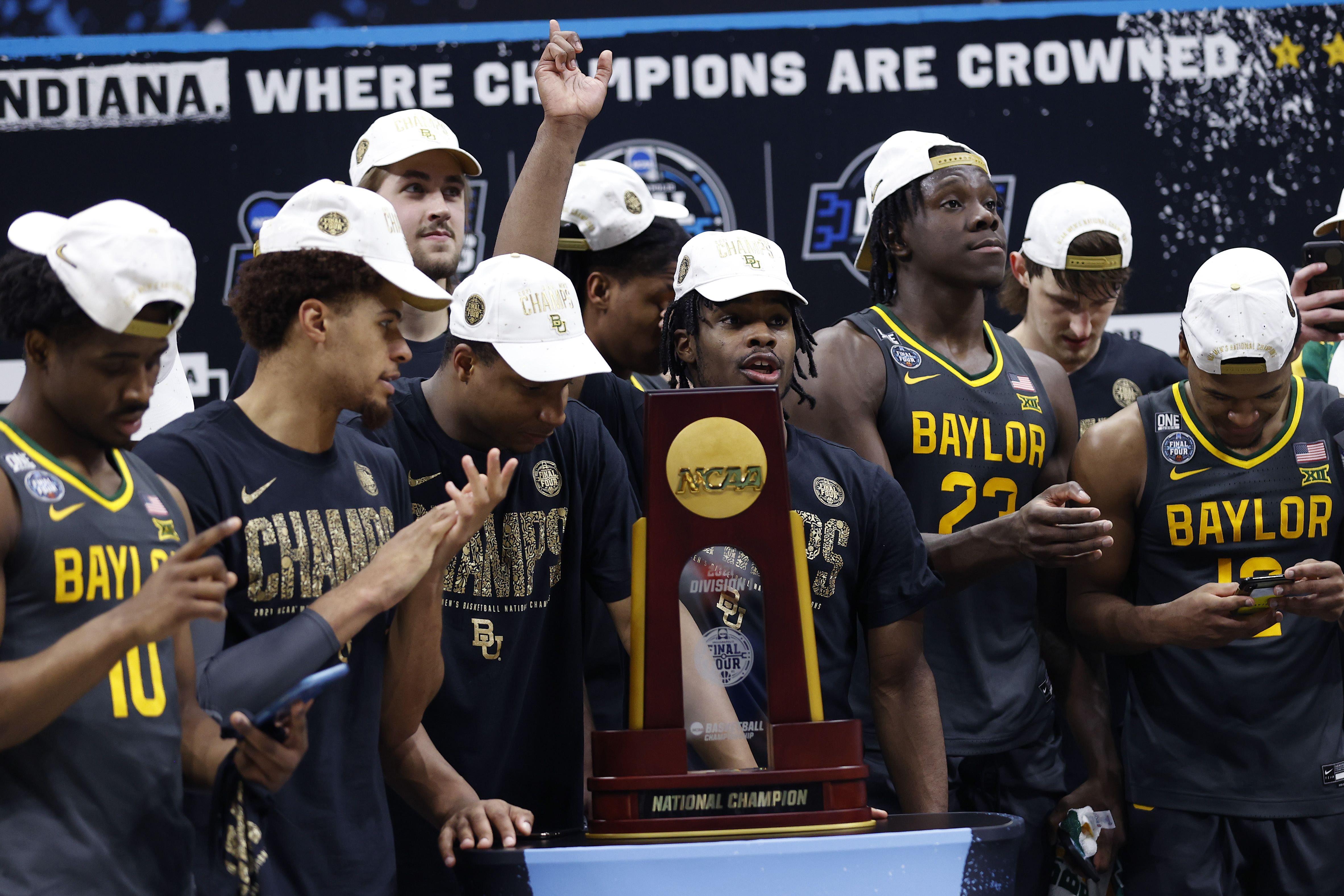 Los Bears, con el título de la NCAA