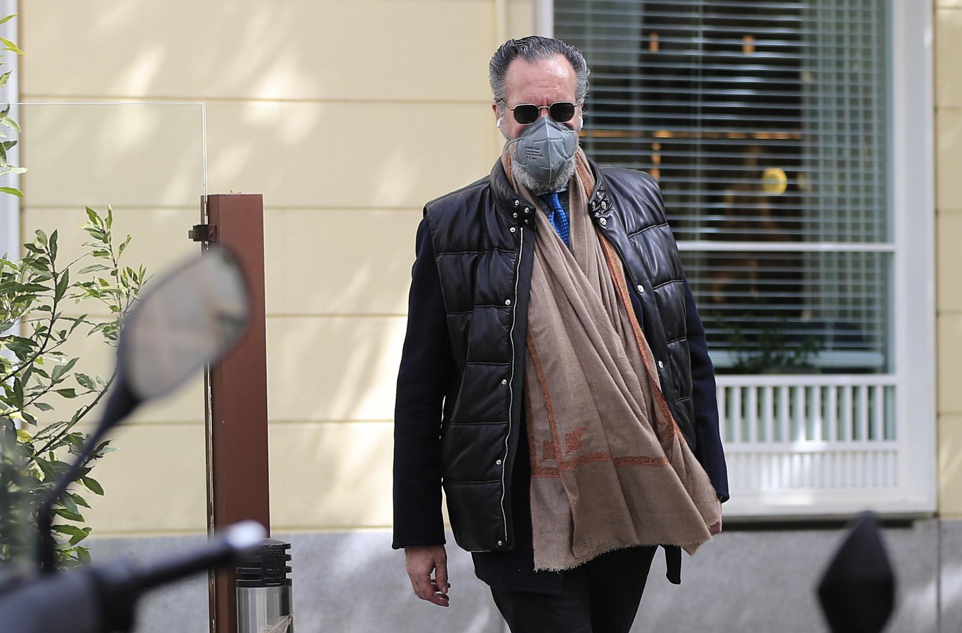 Jaime de Marichalar, en una imagen reciente por las calles de Madrid.