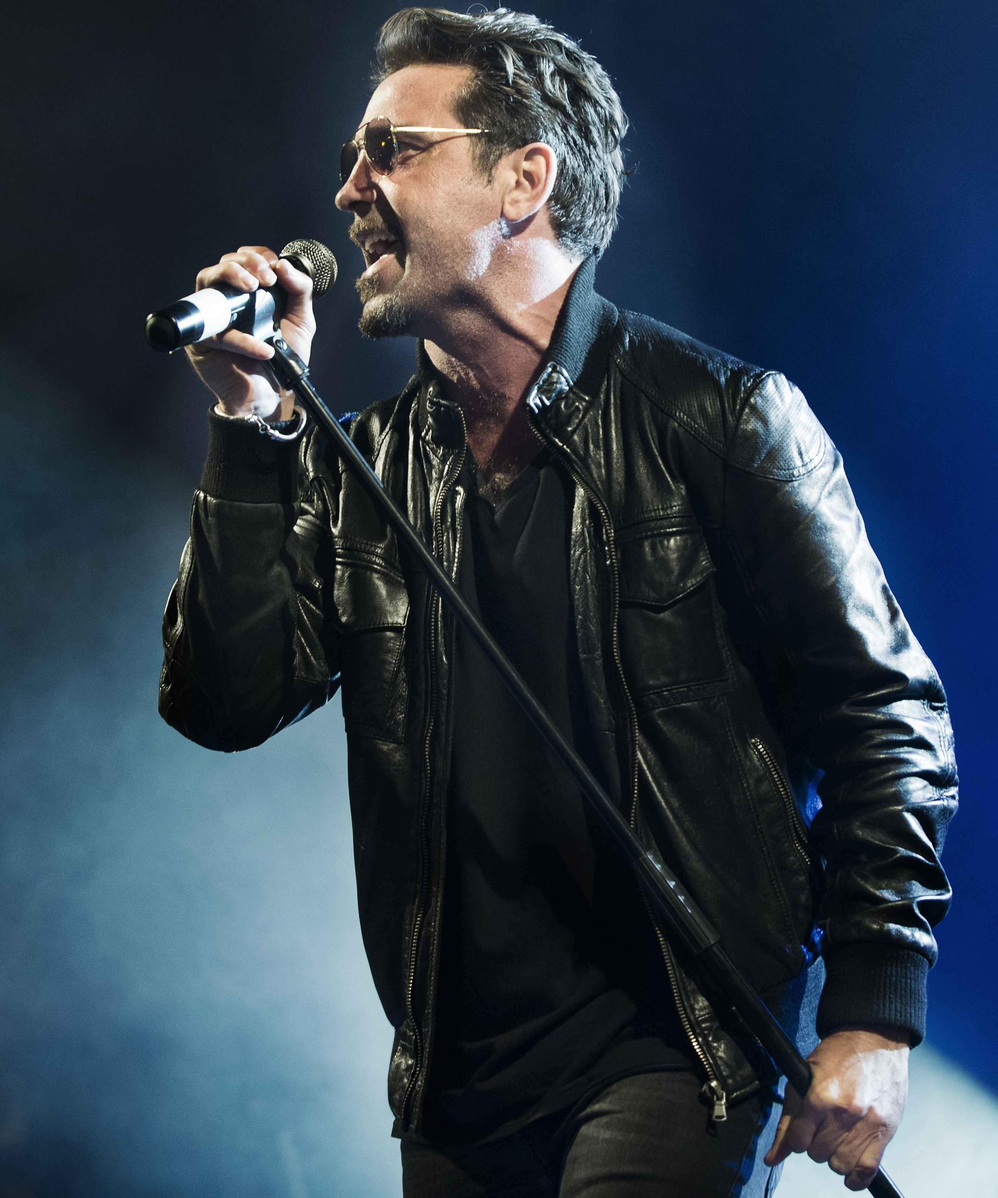 Jordi Sánchez, cantante de OBK, en una imagen cedida por el artista.