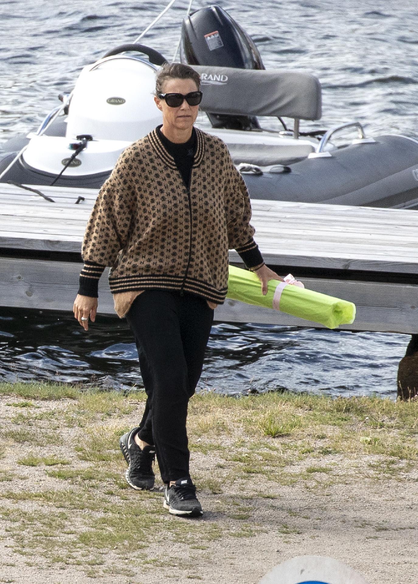 La princesa Marta Luisa de Noruega, en una imagen del pasado verano.