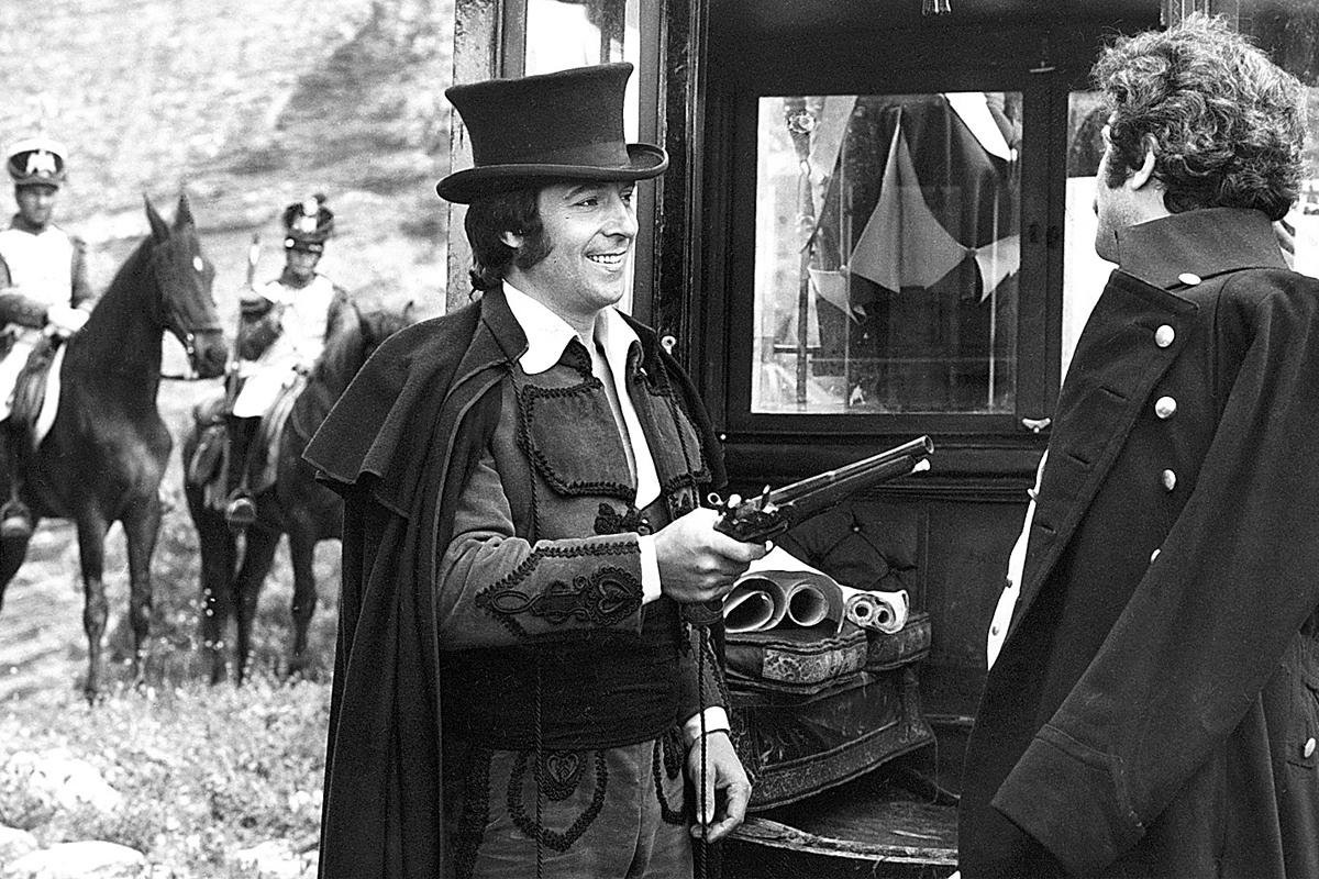 Sancho Gracia, en el papel de Curro Jiménez, en la serie de TVE