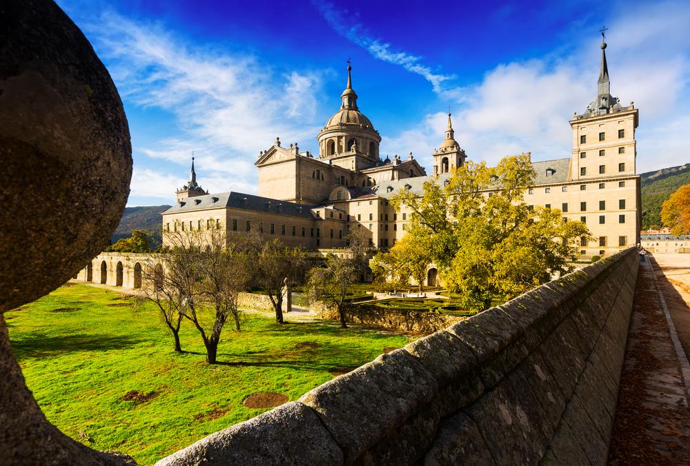 El Real Monasterio de San Lorenzo de El Escorial.