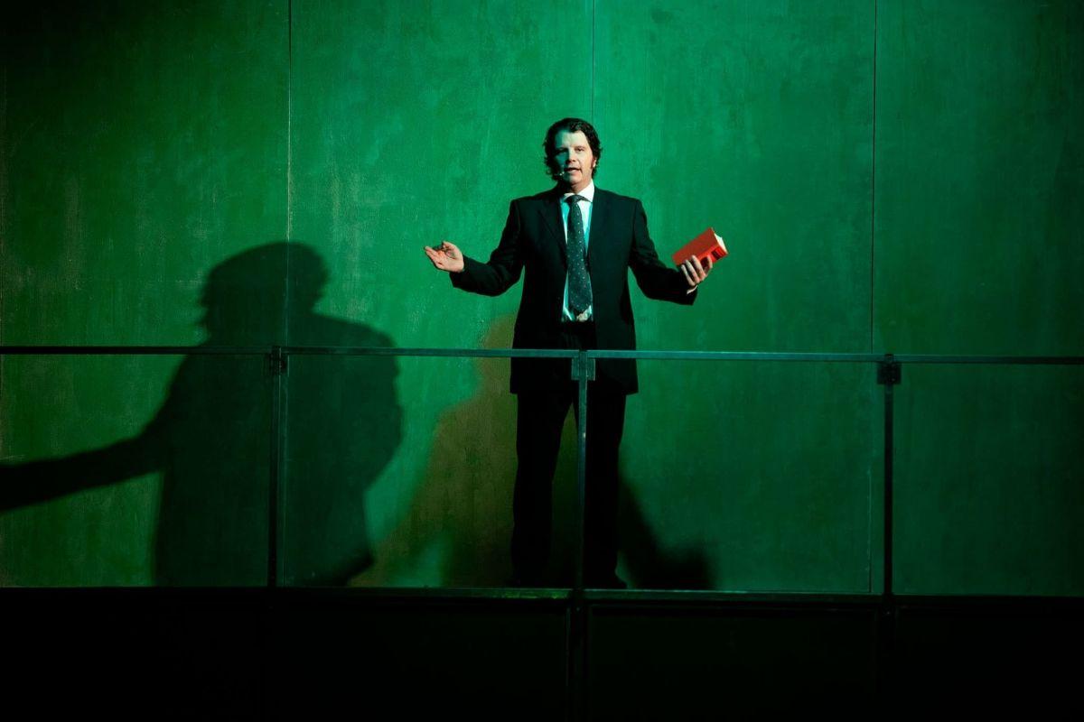 Imagen del espectáculo teatral 'Fariña'.