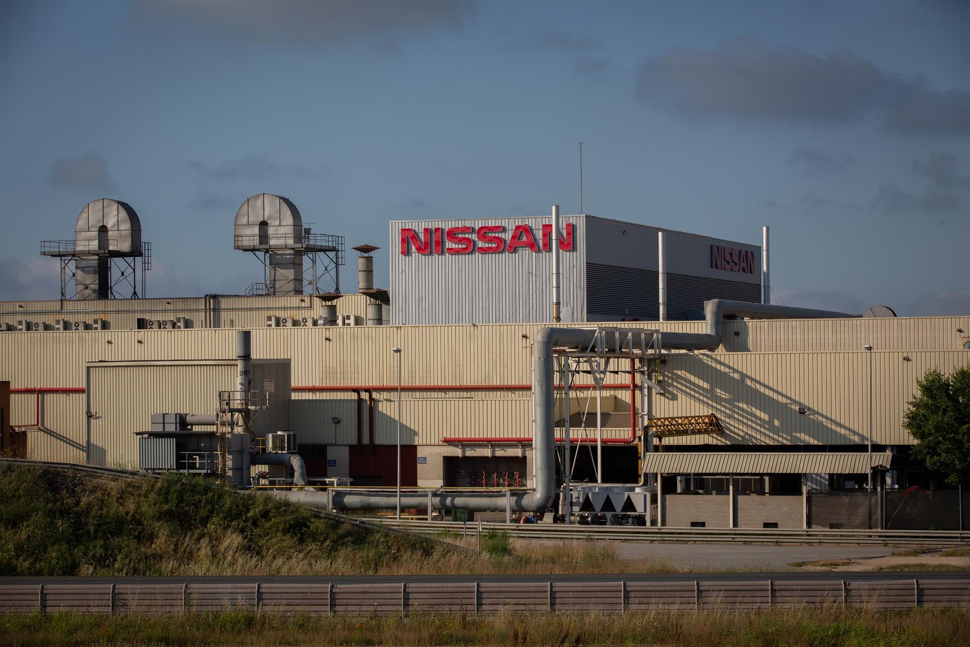 Fábrica de Nissan en Zona Franca Barcelona