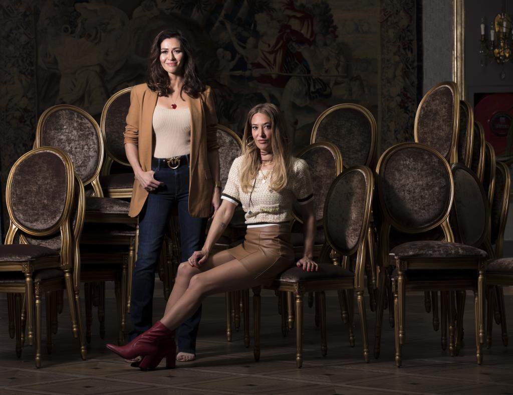 Marilia Andrés y Marta Botía, integrantes de Ella baila sola