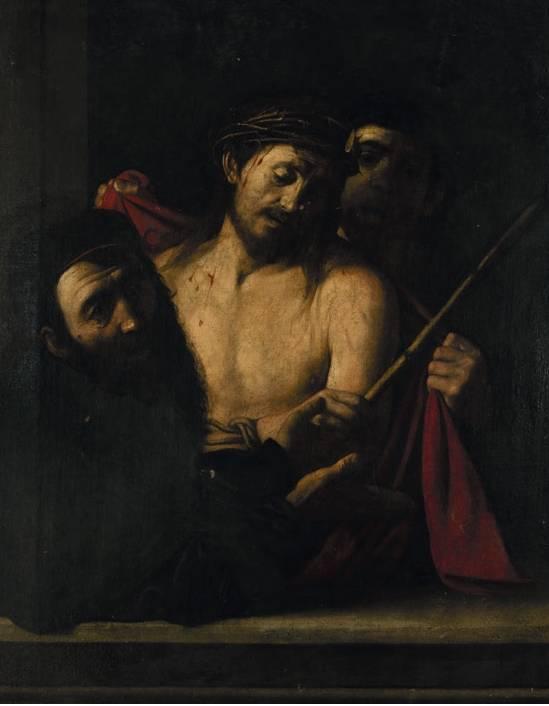 El cuadro retenido podría ser el 'Ecce homo' de Caravaggio.
