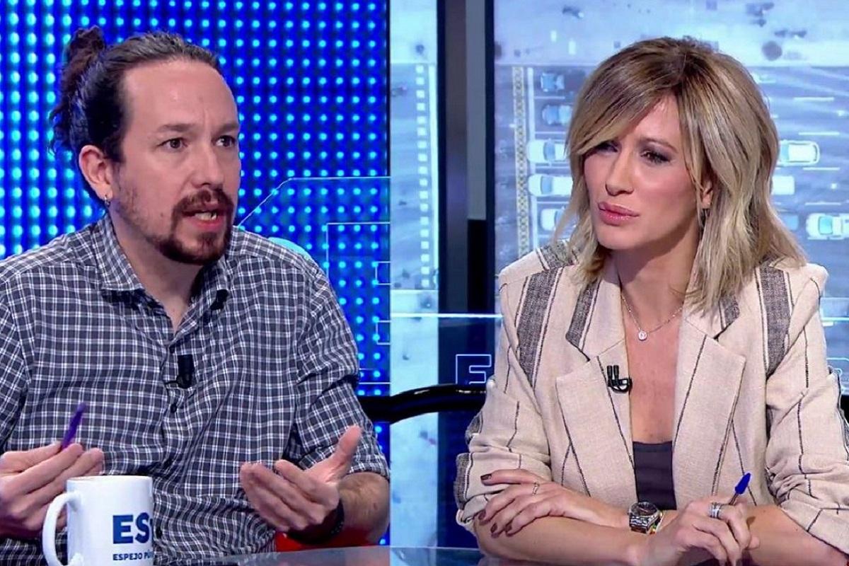 Lluvia de críticas a Susanna Griso por su entrevista a Pablo Iglesias.