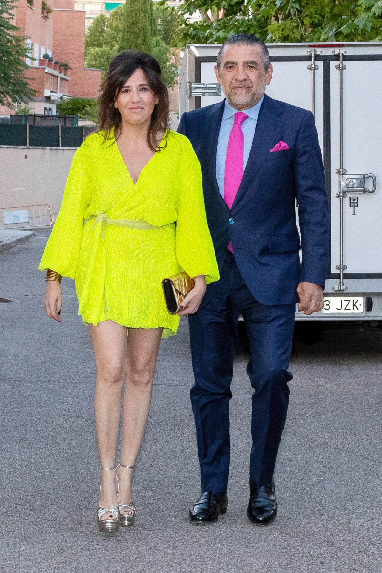 Marta Fernández y Jaime Martínez-Bordiú, en una imagen de junio de 2019.