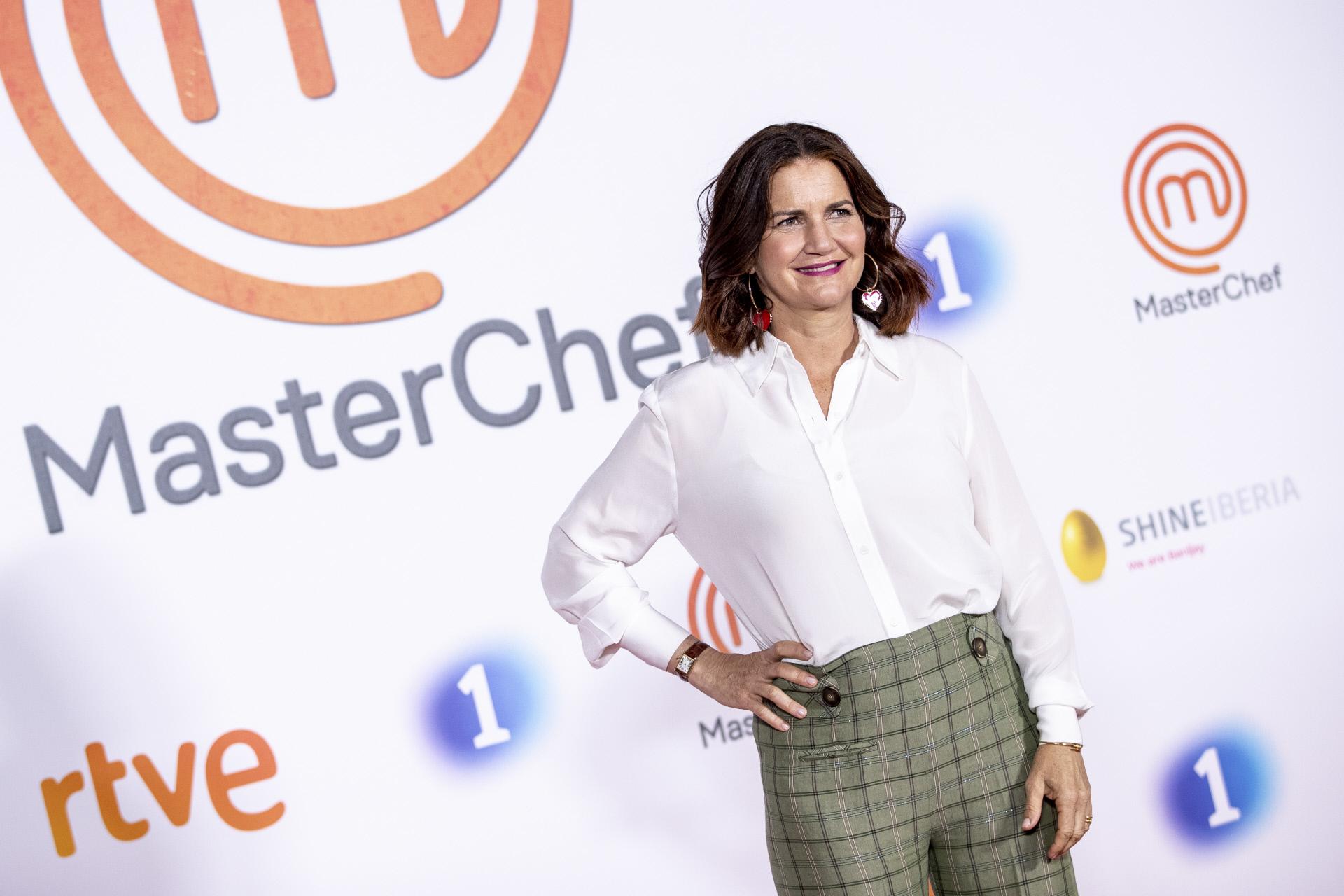 Samantha Vallejo-Nágera en la presentación de 'Masterchef'.