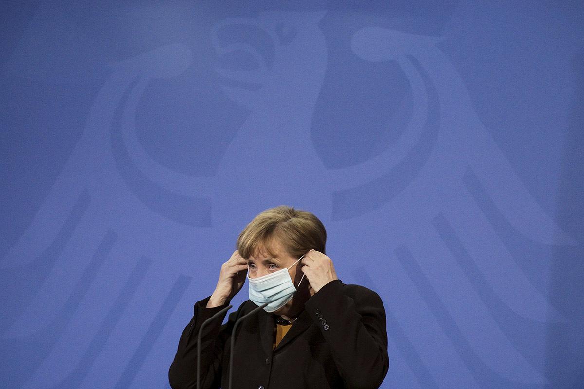 La canciller Angela Merkel, en Berlín.
