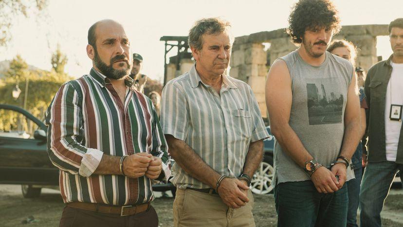 Federico Pérez Rey, Miguel de Lira y Xosé A. Toruiñán en 'Cuñados'.