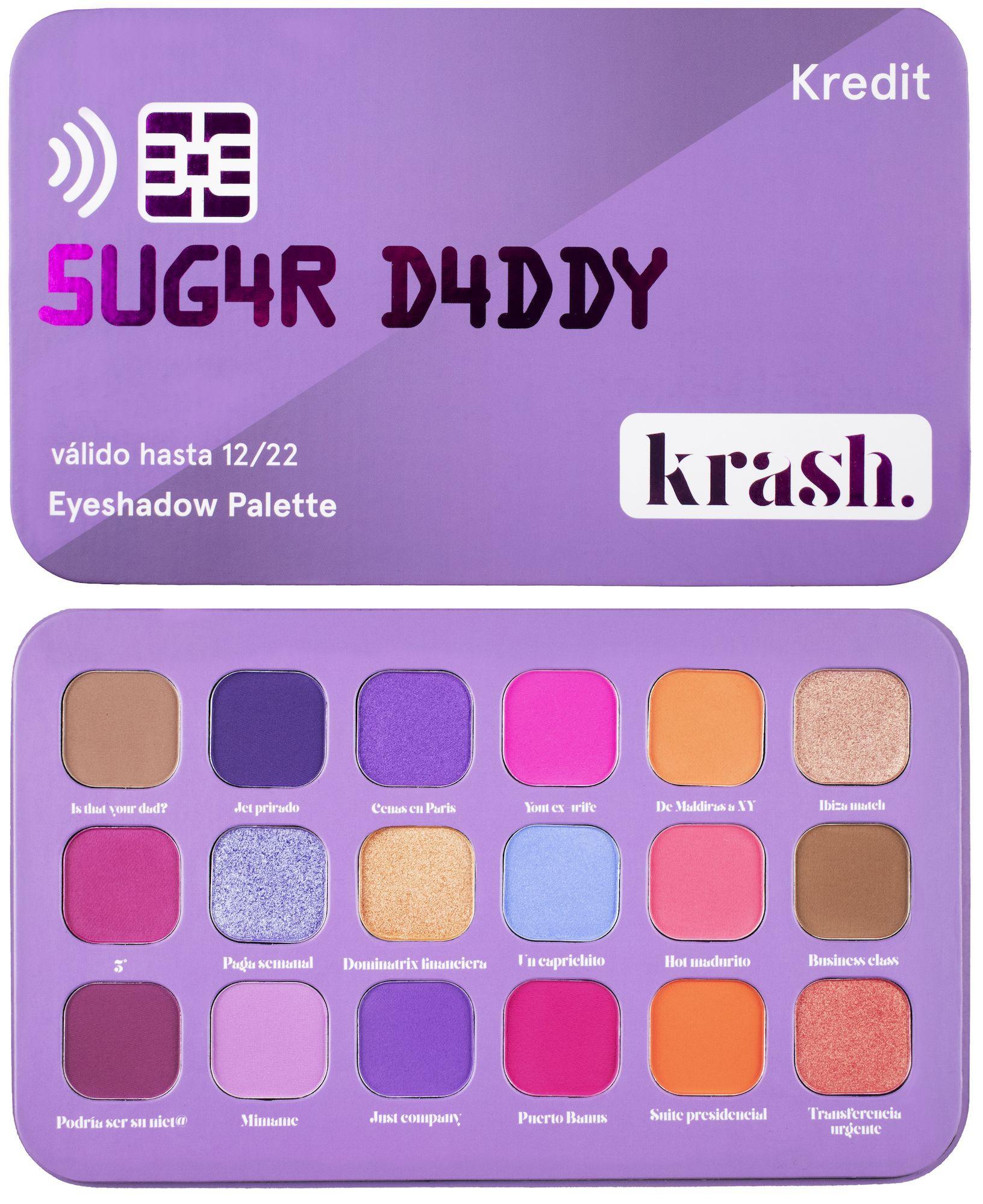 Paleta de sombras de ojos 'Sugar Daddy', ahora retirada.